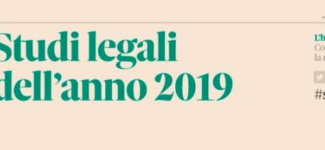 Studi Legali dell'anno 2019